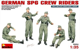 Miniart German SPG Crew Riders 1:35