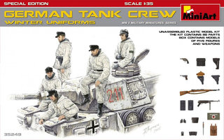 Miniart German Tank Crew 1:35