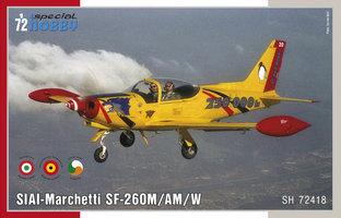 Special Hobby SIAI-Marchetti SF-260M/AM/W 1:72