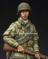 Alpine Miniatures US 101st Airborne Trooper 1:35