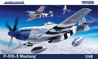 Eduard P-51D-5 Mustang Weekend Edition  1:48