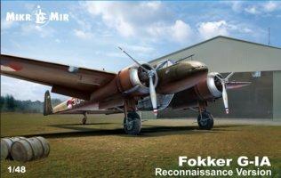 Mikro-Mir Fokker G-1 Reconnaissance  1:48