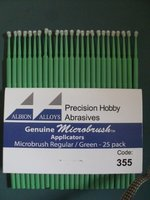 Albion Alloys Microbrush Regular/Green