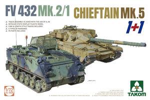 Takom FV432 Mk.2/1&Chieftain Mk.5  1:72