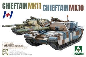 Takom Chieftain Mk.11&Chieftain Mk.10  1:72