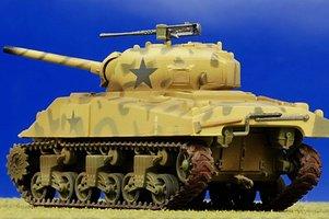 Easy Model  Sherman M4  Middle Tank 1  1:72