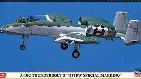 Hasegawa A-10C Thunderbolt II 355FW Special Marking 1:72