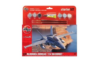 Airfix McDonnell Douglas F/A-18A Hornet 1:72 starterset