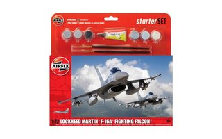 Airfix Lockheed Martin F-16A Fighting Falcon1:72 starterset