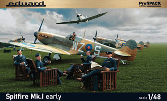 Eduard Spitfire Mk.I early 1:48 Profipack