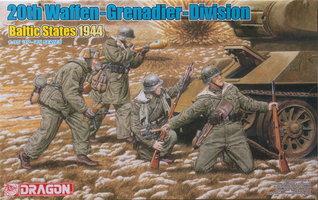 Dragon 20th Waffen Grenadier Division  1:35