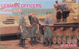 Dragon German Officers Kursk 1943  1:35