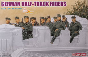 Dragon German Half Track Riders 1:35