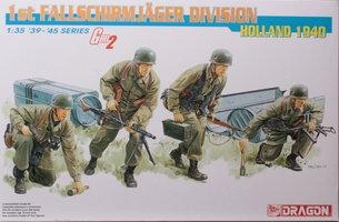 Dragon 1st Fallschirmjager Division Holland 1940  1:35