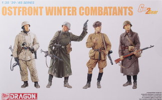 Dragon Ostfront Winter Combatants  1:35