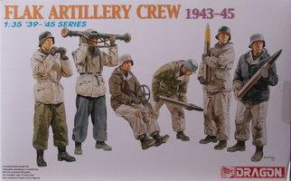 Dragon Flak Artillery Crew 1943-45  1:35