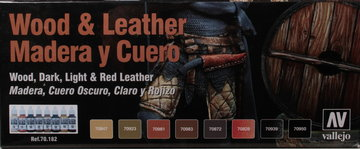 Vallejo Model Color Wood&Leather