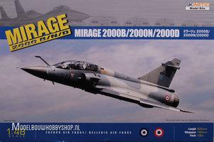 Kinetic Mirage 2000B/2000N/2000D  1:48