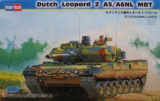 Hobby Boss Plastic Modelbouw Dutch Leopard 2 A5/A6NL  MBT  1:35