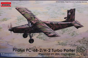 Roden Pilatus PC-6B Turbo Poter 1:48
