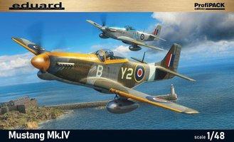 Eduard Mustang Mk.IV 1:48 Profipack