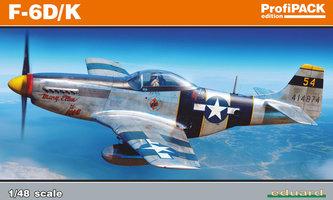 Eduard F-6D/K Mustang ProfiPack  1:48