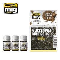 Glossy Wet Mud Soils