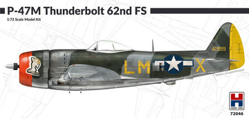 P-47M Thunderbolt  62nd FS