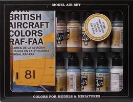 Vallejo Model Air set British Aircraft Colors RAF-FAA