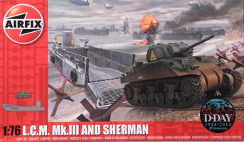 Airfix L.C.M.Mk.III and Sherman  1:76