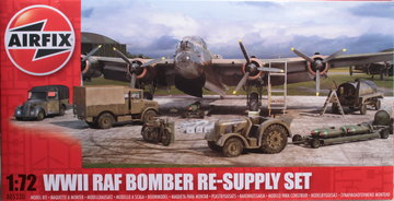 Airfix W.W.II RAF Bomber Re-Supply Set  1:72