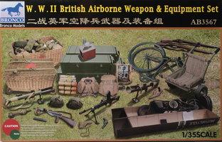 Bronco WW.II British Airborne Weapon&Equipment Set 1:35