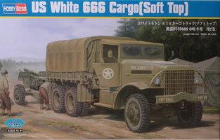HobbyBoss US White 666 Cargo Soft Top 1:35
