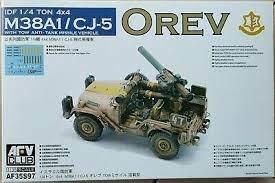 AFV M38A1/CJ-5 OREV 1:35