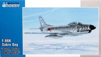 Special Hobby  F-86K Sabre Dog  1:48