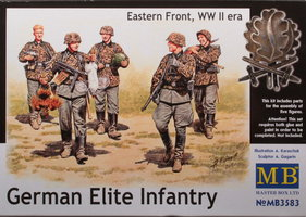 Masterbox  German Elite Infantry  1:35