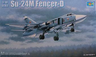 Trumpeter Plastic modelbouw Su-24M Fencer-D  1:48