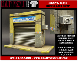 Reality in Scale Middle East Shop Front  1:35