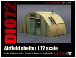 Reality in Scale Airfield shelter 1:72