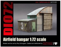 Reality in Scale Airfield Hangar 1:72