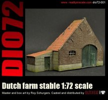 Reality in Scale Dutch Farm Stable 1:72