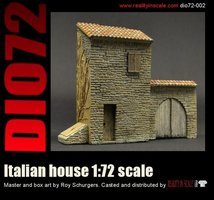 Reality in Scale Italian house 1:72