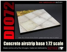 Reality in Scale Concrete airstrip base 1:72