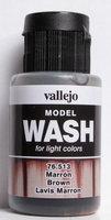 Vallejo Wash Brown