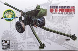 AFV British Ordnance QF 6-pounder anti tank gun Mk.IV  1:35
