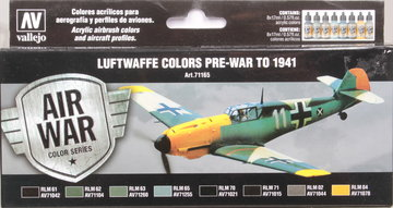 Air War Luftwaffe Colors Pre-War to 1941