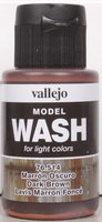 Vallejo Wash Dark Brown 35ml