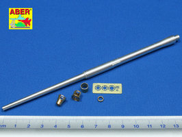 Aber German 88mm L/71 Barrel for PaK43/41 1:35