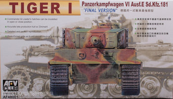 AFV Club Tiger I Early Version  1:48