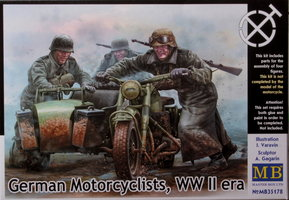 Masterbox	German Motorcyclists W.O.2 1:35